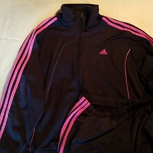 Womens Adidas track suit